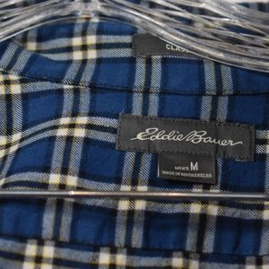 Eddie Bauer Shirts - Men's Eddie Bauer Plaid Button Down Shirt M (E41)